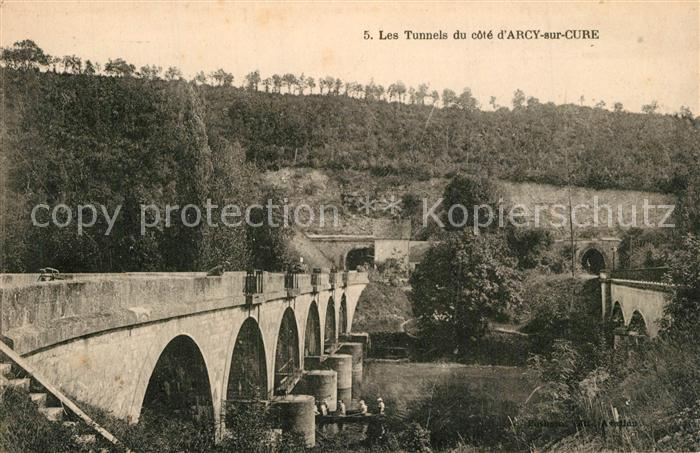 AK / Ansichtskarte Arcy sur Cure_Yonne Tunnels Arcy sur Cure Yonne
