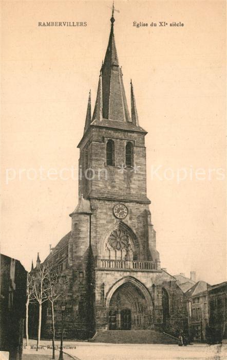 AK / Ansichtskarte Rambervillers Eglise du XI siecle Rambervillers 0