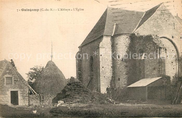 AK / Ansichtskarte Guingamp Kloster Kirche Guingamp 0