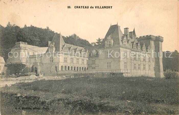 AK / Ansichtskarte Villandry Chateau Villandry
