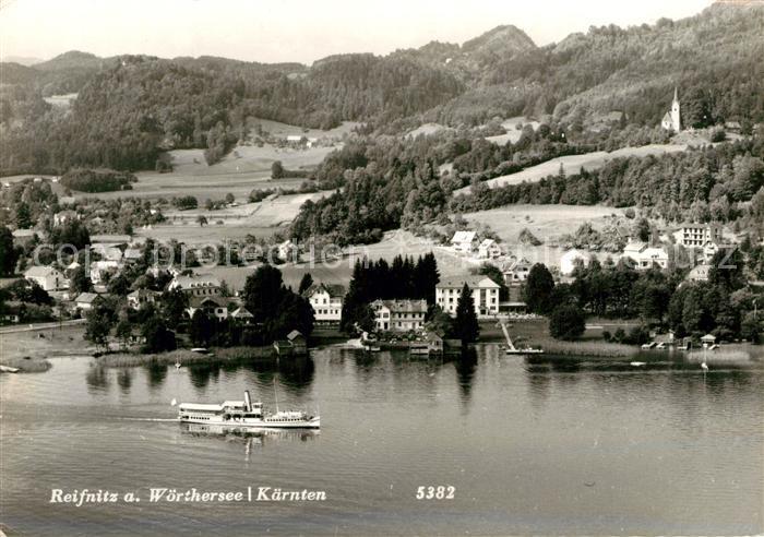 AK / Ansichtskarte Reifnitz_Woerthersee Panorama Reifnitz Woerthersee