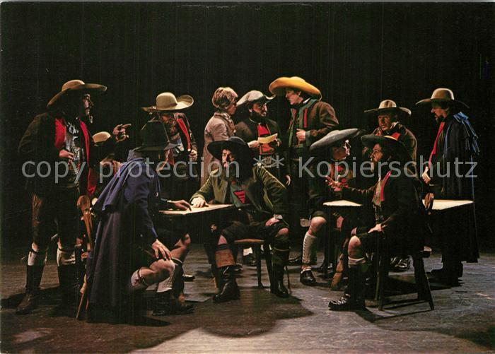 AK / Ansichtskarte Meran_Merano Volksschauspiel Beratung beim Sandwirt Meran Merano