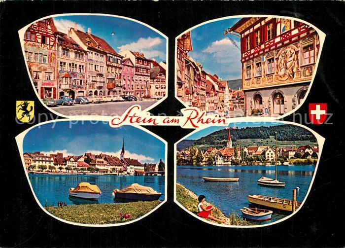 AK / Ansichtskarte Stein_Rhein Stadtansichten Bootsanlegestelle Stein Rhein