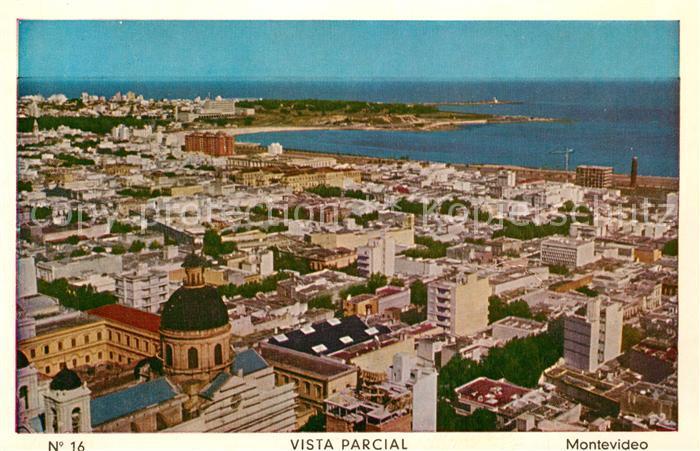 Montevideo_Uruguay Vista parcial Montevideo Uruguay