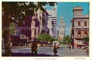 Montevideo_Uruguay Avenida 18 de Julio Montevideo Uruguay