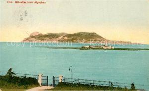 Gibraltar View from Algeciras Gibraltar