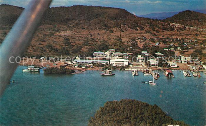 La_Parguera Fishing village aerial view