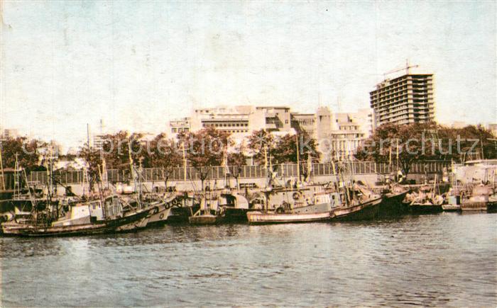 Maputo Doca dos Pescadores Fischereihafen Maputo