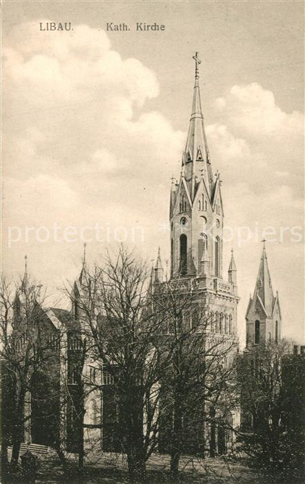 Libau Katholische Kirche Libau