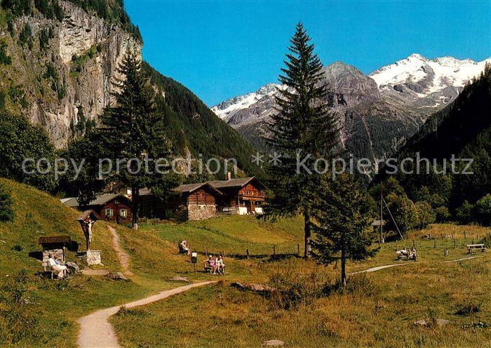 Badgastein Malerwinkel Koetschachtal Tischlerkargletscher Alpen Badgastein