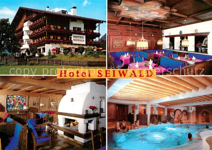 Kirchdorf_Tirol Hotel Seiwald Restaurant Kamin Hallenbad Kirchdorf Tirol