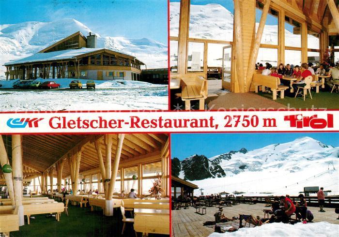 Feichten_Kaunertal Kaunertaler Gletscherbahnen Panorama Restaurant Sonnenterrasse Feichten Kaunertal