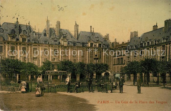 Paris Un Coin de la Place des Vosges Paris