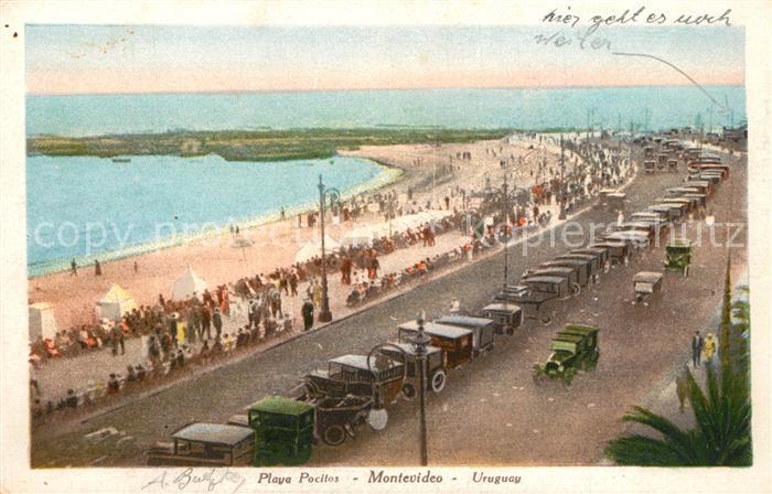 Montevideo_Uruguay Playa Pocitos Montevideo Uruguay