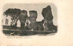 Mendoza Ruinen Mendoza