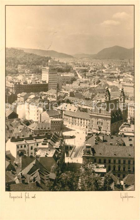Ljubljana_Laibach Stadtpanorama
