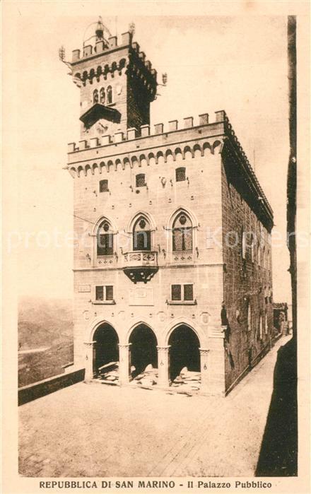 San Marino Il Palazzo Pubblico San Marino