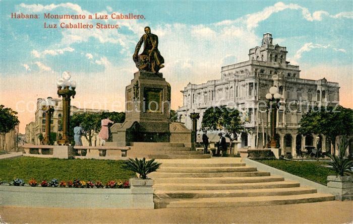 Habana_Havana Monument Luz Caballero Habana Havana