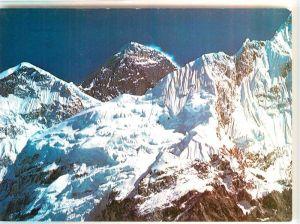 AK / Ansichtskarte Kathmandu Himalaya Gebirge Mount Everest Kathmandu