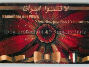AK / Ansichtskarte Kuwait Remember our POWs Kuwait