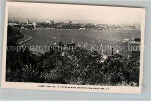 AK / Ansichtskarte Perth_Western_Australia View Swan River and Perth from Kings Park Perth_Western_Australia