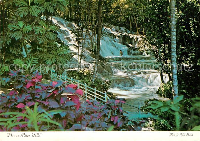 AK / Ansichtskarte Jamaica_Jamaica Dunn s River Falls Jamaica Jamaica