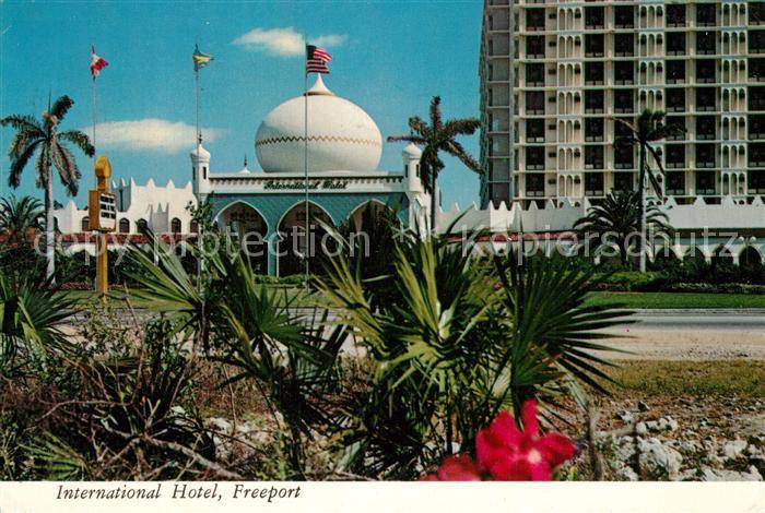 AK / Ansichtskarte Freeport_Freeport International Hotel Freeport Freeport