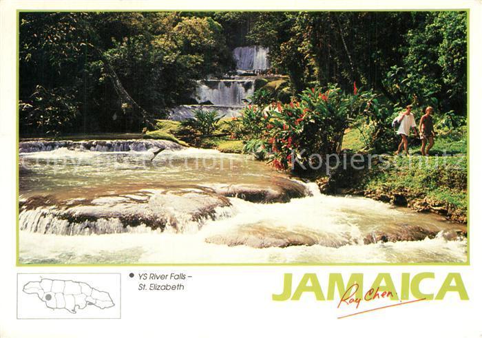 St_Elizabeth_Jamaika YS River Falls