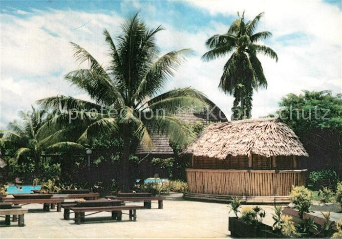Apia Ferienanlage Bungalows Bar Swimming Pool Apia