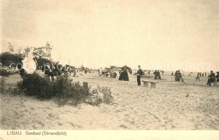 Libau Seebad Strand Libau
