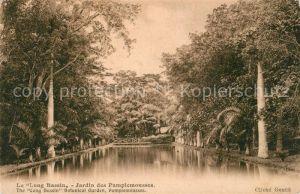 Pamplemousses Long Bassin Botanical Garden