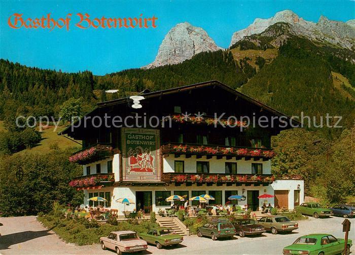AK / Ansichtskarte Maria_Alm_Steinernen_Meer Gasthof Botenwirt Maria_Alm_Steinernen_Meer