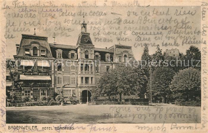 Badenweiler Hotel Roemerbad Badenweiler