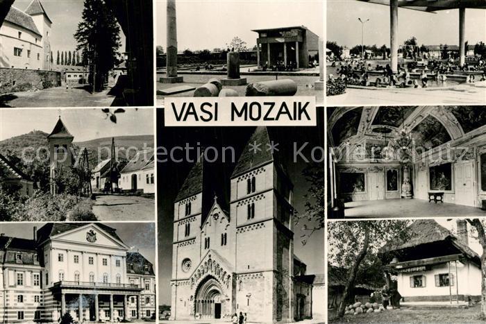 Vas_Megye Mosaik Stadtansichten Vas_Megye