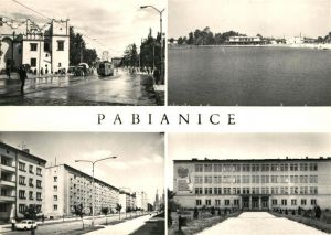 Pabianice Stadtansichten Pabianice