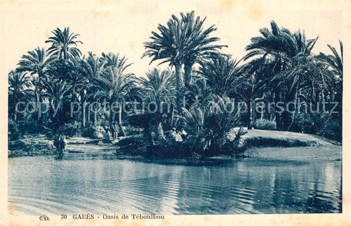 Gabes Oasis de Teboulbou Gabes
