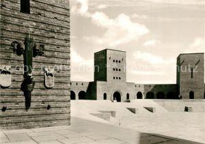 Tannenberg_Ostpreussen Reichsehrenmal Tannenberg Denkmal Innenhof Tannenberg_Ostpreussen