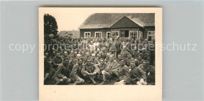 Tchorz_Plock Gruppenfoto Soldaten