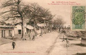 Kankan Rue Commerciale et Route de Kankan a Siguiri Kankan