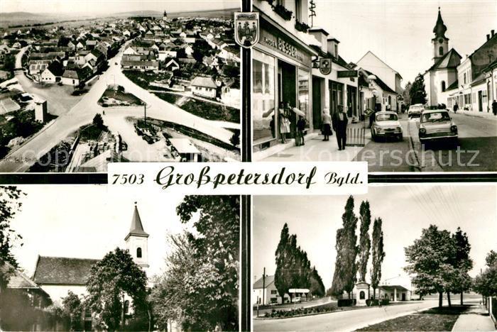 Grosspetersdorf Fliegeraufnahme Kirchenpartien Grosspetersdorf