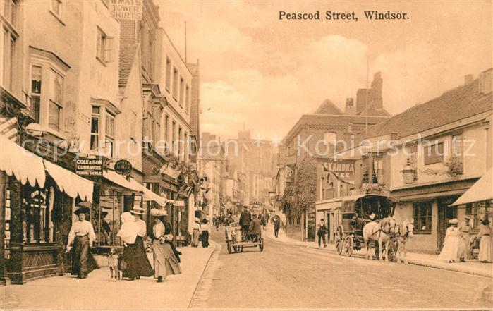 Windsor_Belfast Peascot Streed Pferdewagen Windsor_Belfast