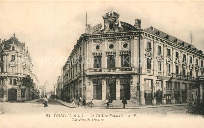Tours_Indre et Loire Theatre Francais Tours Indre et Loire