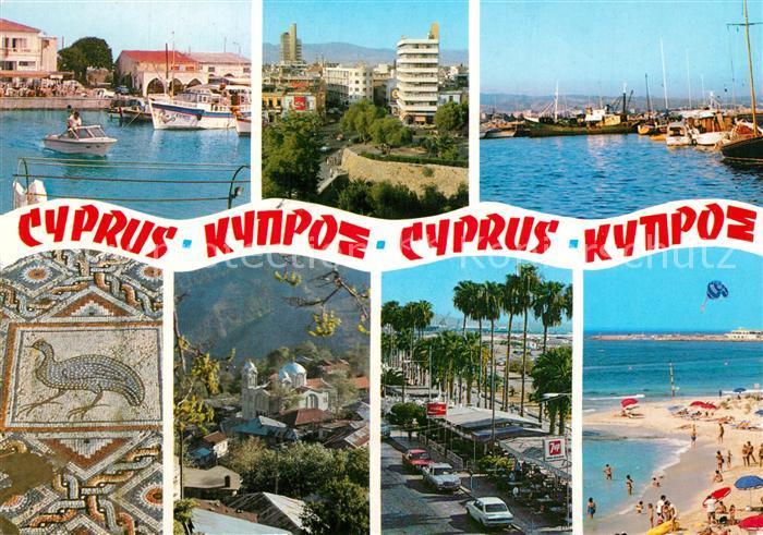 AK / Ansichtskarte Cyprus_Zypern Strand Hafen  Cyprus Zypern