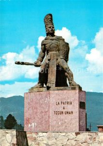 AK / Ansichtskarte Guatemala Monument Tecun Uman Guatemala