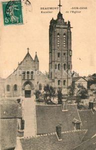 AK / Ansichtskarte Beaumont sur Oise Escalier de l Eglise Beaumont sur Oise