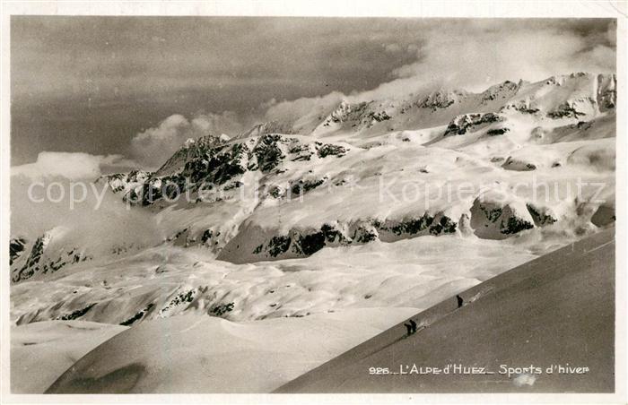 AK / Ansichtskarte Alpe_d_Huez_Isere Sports d hiver Alpes Francaises Alpe_d_Huez_Isere