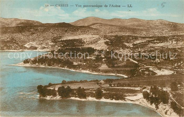 AK / Ansichtskarte Cassis Vue panoramique de l Arene vue aerienne Cassis