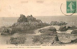 AK / Ansichtskarte Ile de Brehat Groupe de Rochers au nord de l Ile Ile de Brehat