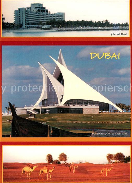 AK / Ansichtskarte Dubai Ali Hotel Dubai Creek Golf Yacht Club Kamel Dubai