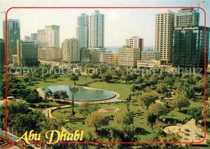 AK / Ansichtskarte Abu_Dhabi Stadtpark Hochhaeuser Abu_Dhabi